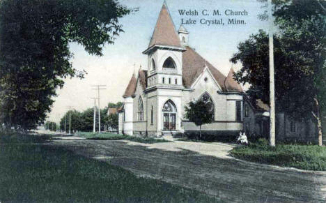 Welsh C.M. Church, Lake Crystal Minnesota, 1908