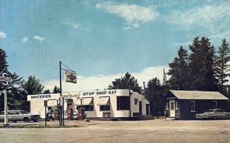 Skelly Station and Post Office, Lake George Minnesota, 1960's