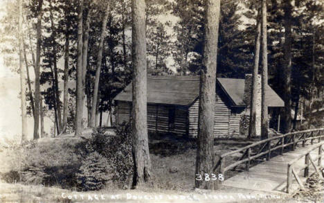Cottage at Douglas Lodge, Itasca State Park, 1920
