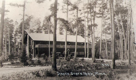 Lodge at Itasca State Park, 1920's