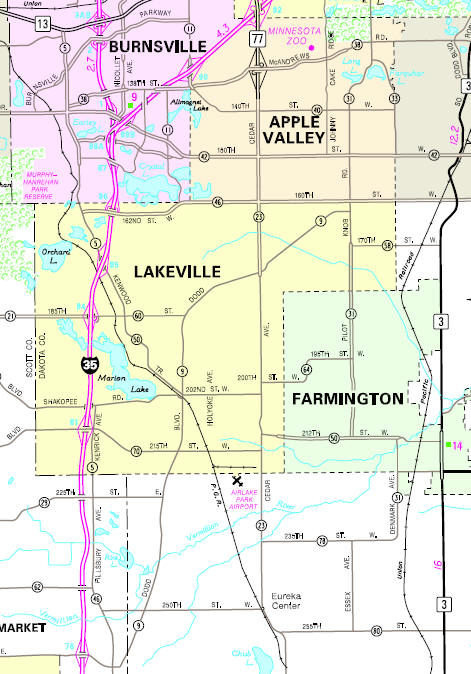 map of lakeville minnesota Guide To Lakeville Minnesota map of lakeville minnesota