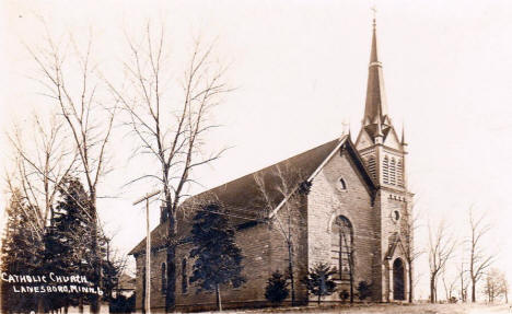 Catholic Church, Lanesboro Minnesota, 1916