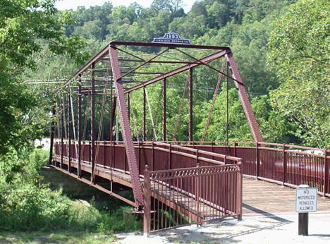 Root River Bridge, Lanesboro Minnesota, 2004