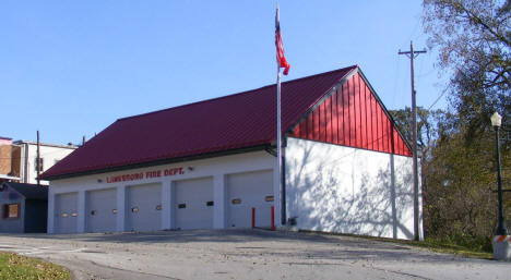Fire Department, Lanesboro Minnesota, 2009