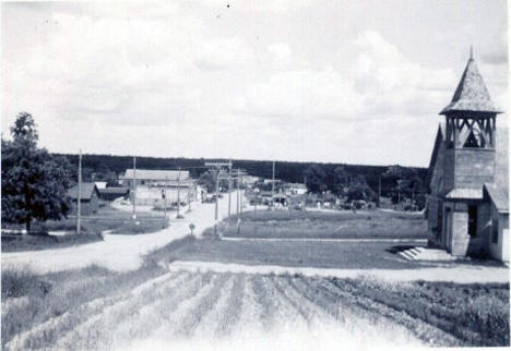 General view, Laporte Minnesota, 1938