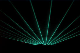 Mr. Faith's Sound, Light and Laser Light Show, International Falls Minnesota