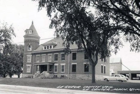 Le Sueur County Jail, Le Center Minnesota, 1960's
