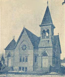 First Baptist Church, LeRoy, Minnesota, 1909
