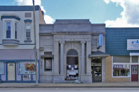 First National Bank, Le Roy Minnesota, 2010