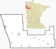 Location of Lengby Minnesota