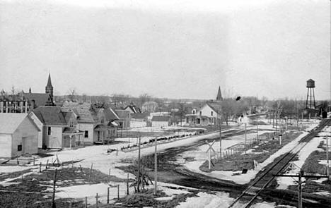General view, Lindstrom Minnesota, 1909