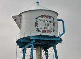 Lindstrom Minnesota Water Tower