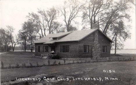 Litchfield Golf Club, Litchfield Minnesota, 1945