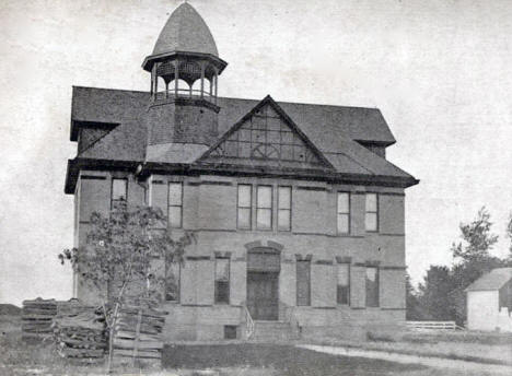Lincoln School, Litchfield Minnesota, 1909