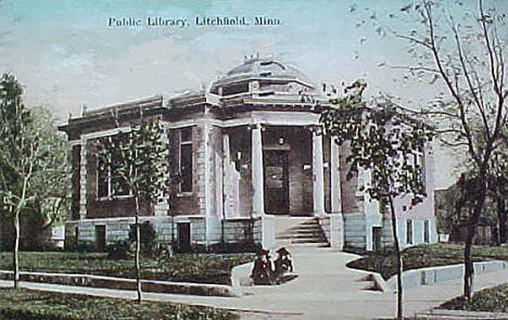 Public Library, Litchfield Minnesota, 1909