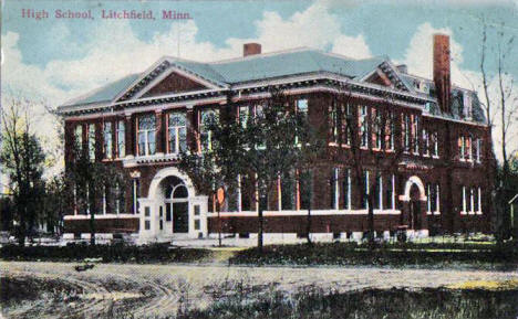 High School, Litchfield Minnesota, 1913