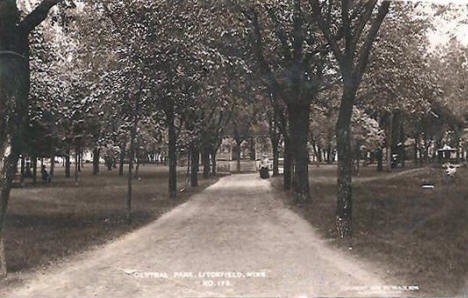 Central Park, Litchfield Minnesota, 1908