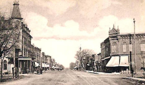 Main Street, Litchfield Minnesota, 1907