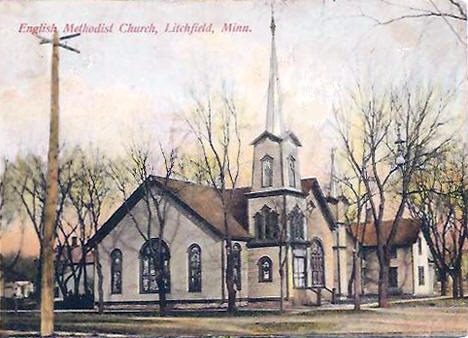 English Methodist Church, Litchfield Minnesota, 1908