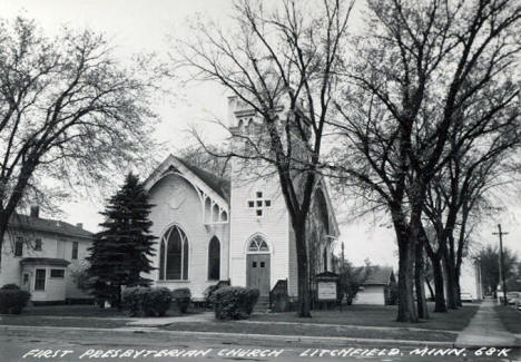 First Presbyterian Church, Litchfield Minnesota, 1961