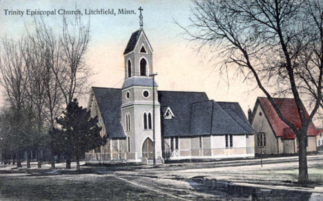 Trinity Episcopal Church, Litchfield Minnesota, 1909