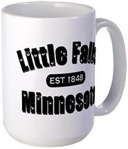 Little Falls Established 1848 Large Mug