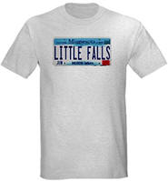 Little Falls License Plate Light T-Shirt