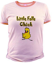 Little Falls Chick Jr. Ringer T-Shirt