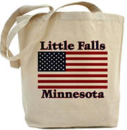Little Falls US Flag Tote Bag