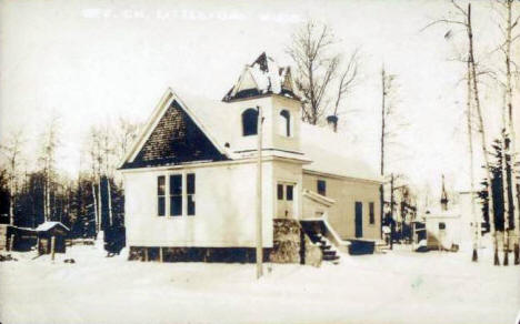 Church, Littlefork Minnesota, 1922