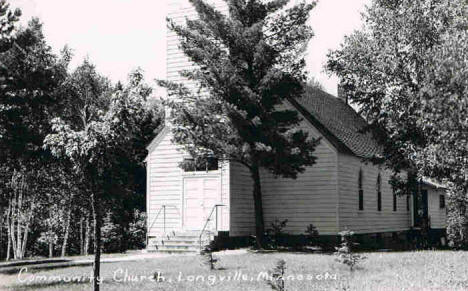 Community Church, Longville Minnesota, 1930's?