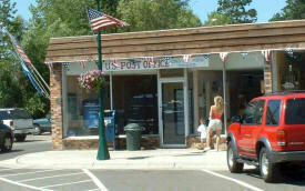 US Post Office in Longville Minnesota