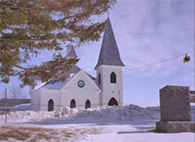 Old Trondhjem Church,  Lonsdale Minnesota