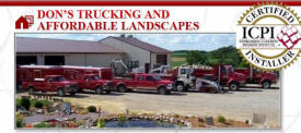 Don's Trucking and Affordable Landscapes, Lonsdale Minnesota