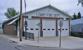 City Hall and Fire Department, Lowry Minnesota