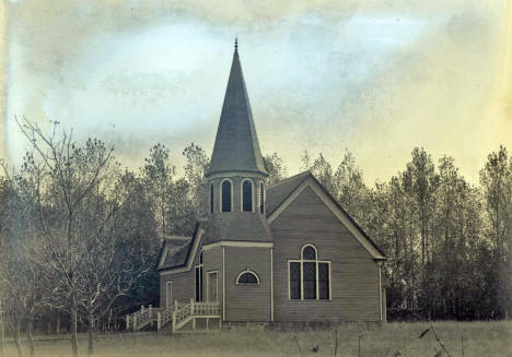 Ben Wade Covenant Church, Lowry Minnesota, 1910's
