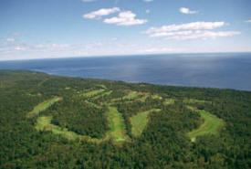 Superior National Golf Course, Lutsen Minnesota
