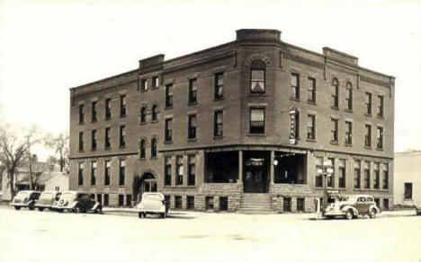 Hotel Manitou, Luverne Minnesota, 1940's