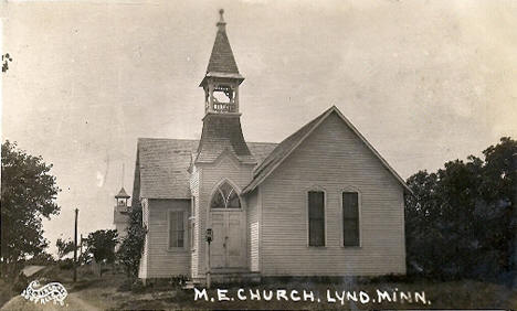 Methodist Episcopal Church, Lynd Minnesota, 1914