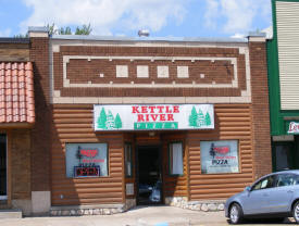 Kettle River Pizza, Askov Minnesota