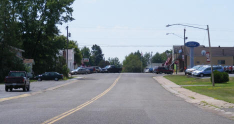 View of Downtown Askov Minnesota, 2007