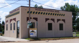 Woodlands National Bank, Sturgeon Lake Minnesota