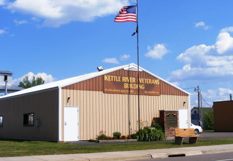 Kettle River Veterans Building, Kettle River Minnesota, 2007