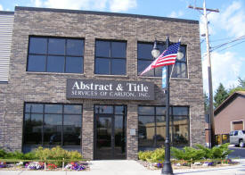 Abstract & Title Services of Carlton Minnesota