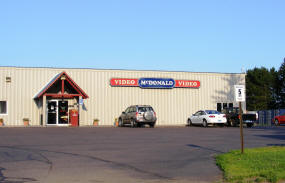 McDonald Video Rental, Cloquet Minnesota