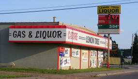Lemon Tree Liquor, Cloquet Minnesota