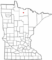 Location of Big Falls, Minnesota