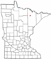 Location of Cook, Minnesota
