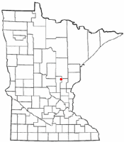 Location of Isle, Minnesota