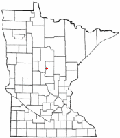 Location of Nisswa, Minnesota